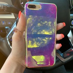 iPhone Purple Laser Case